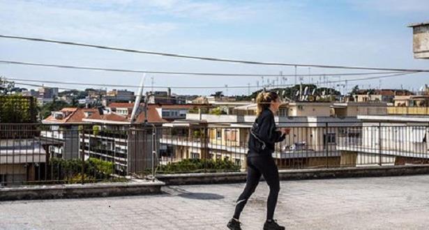 """""""سطحاطون"""" أول سباق خاص بالحجر الصحي على أسطح المنازل بالمغرب 1"""