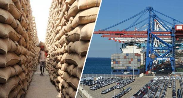 عمليات تزويد السوق بالحبوب عبر الموانئ الوطنية مستمرة في أحسن الظروف 1