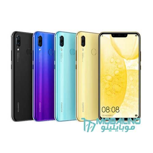 ألوان هاتف Huawei Nova 3