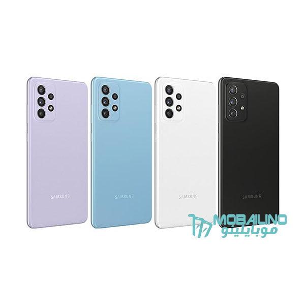 ألوان Samsung Galaxy A72
