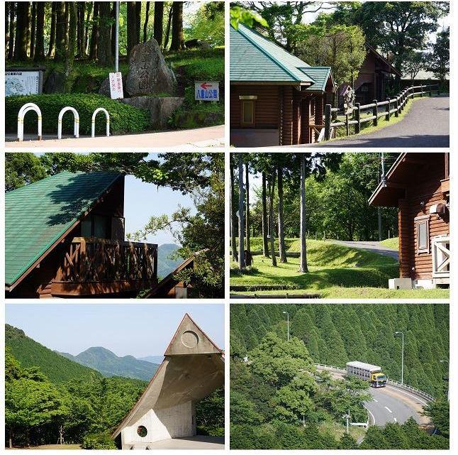 豊かな自然と対話できる「八重山公園」散策風景より