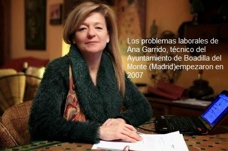 Ana Garrido sufrió acoso laboral