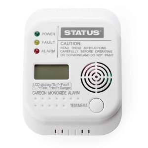 carbon monoxide co digital alarm gr586