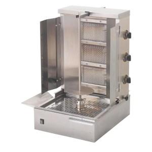 lpg kebab gas grill gd349