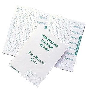 temperature log book