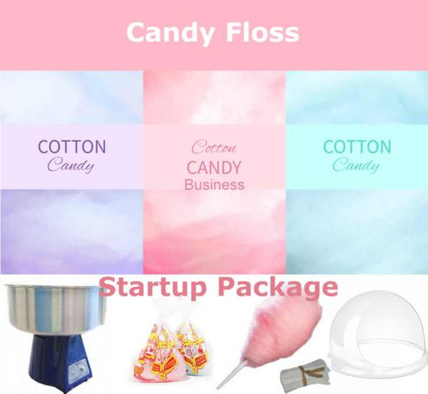 candy floss startup package