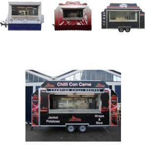 food catering trailers for sale