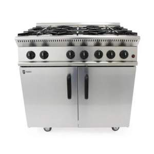 lpg gas oven 6 burners catering equipment