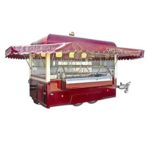 pro catering food trailers for sale