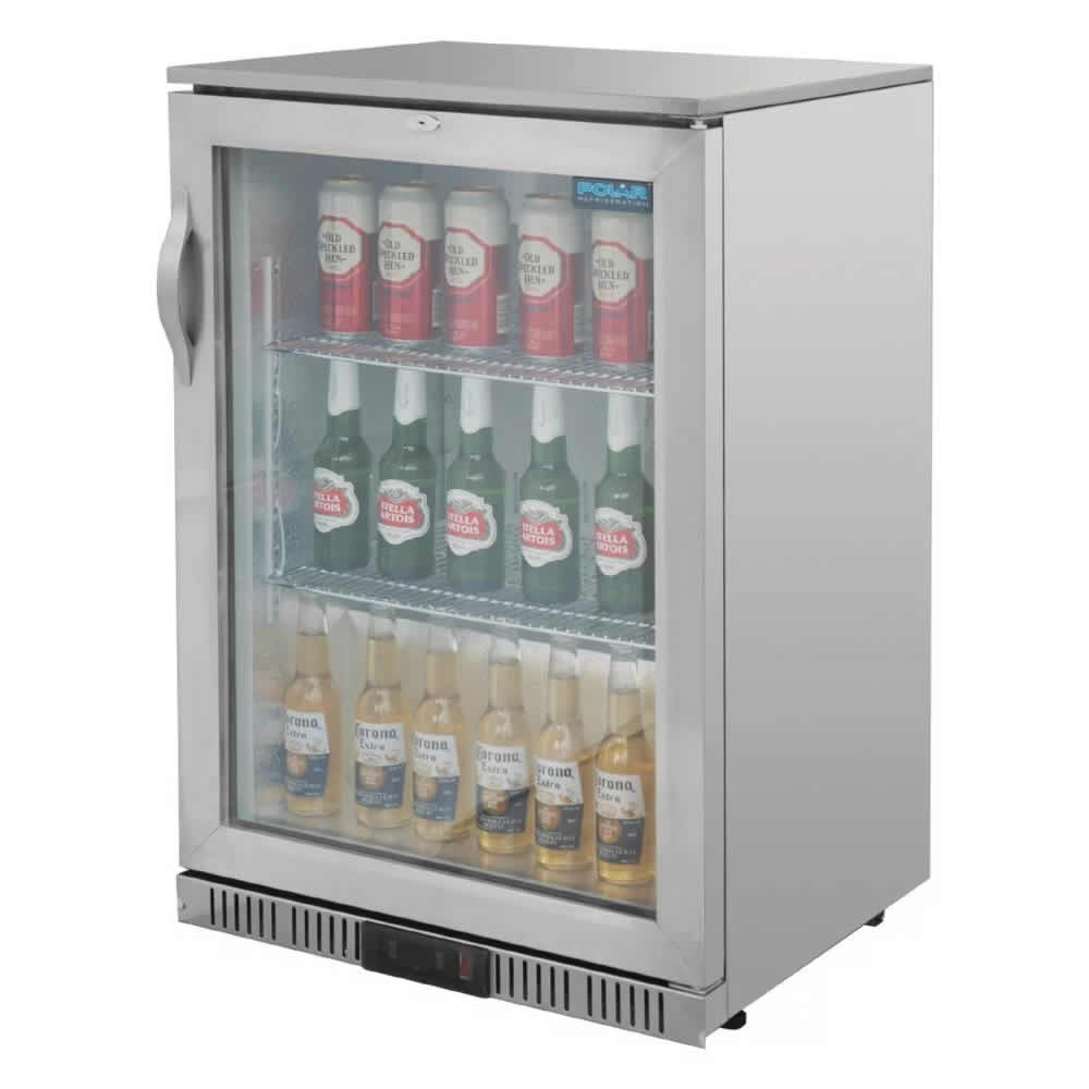 Drinks Cooler Stainless Steel 138Ltr