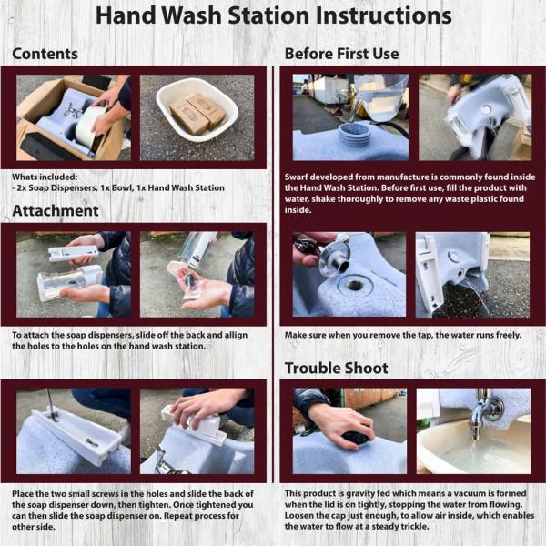 mobile hand wash basin