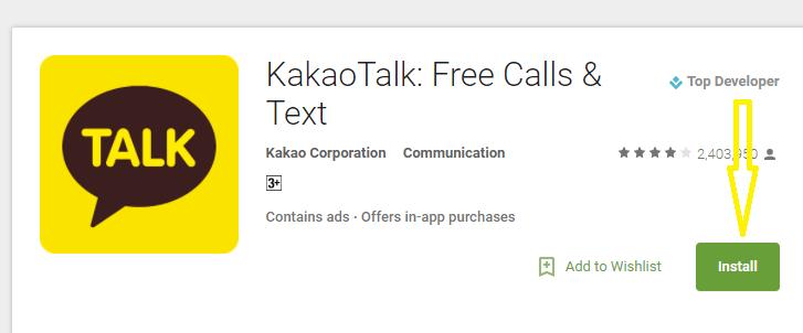 KaKaotalk para PC