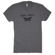 1 - Anytime Anywhere - MoBell Muscle Tri-Blend T-Shirt - Front