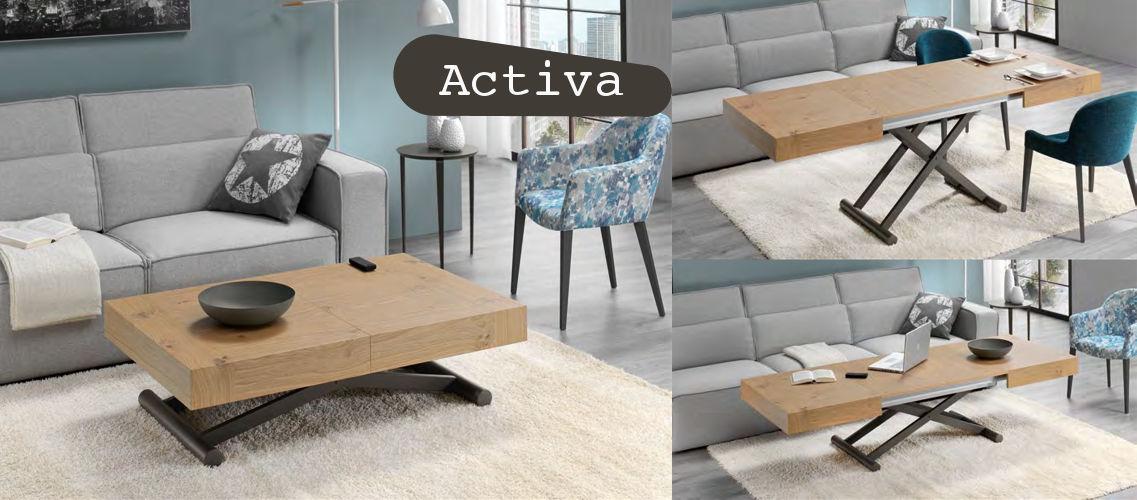 Mesa convertible Activa
