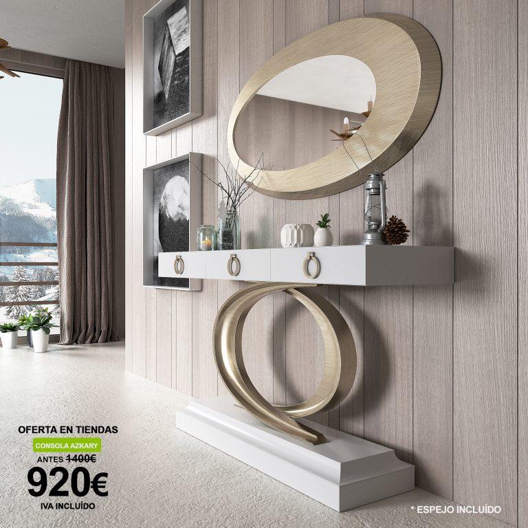 Oferta Franco Furniture: consola Azkary