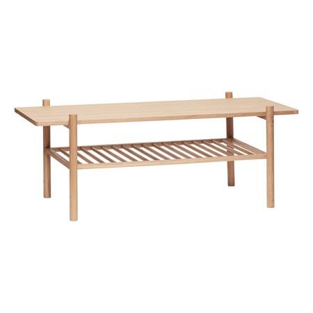 sofabord Sofabord 120x57xh46 cm - Natur fra Hübsch