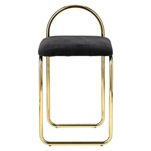 Angui Chair Antrasite/Gold fra AYTM -
