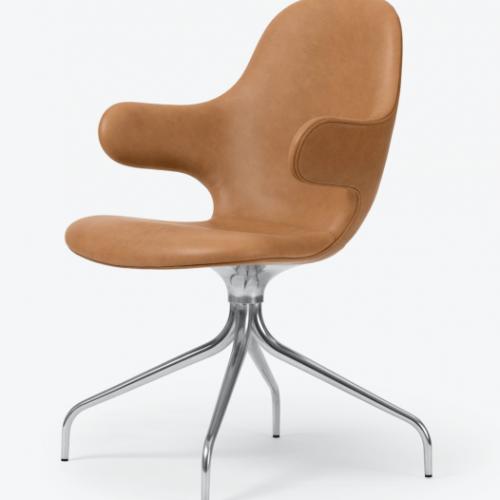 Catch Chair H2 Cognac Leather kontorstol kontorstol fra &tradition