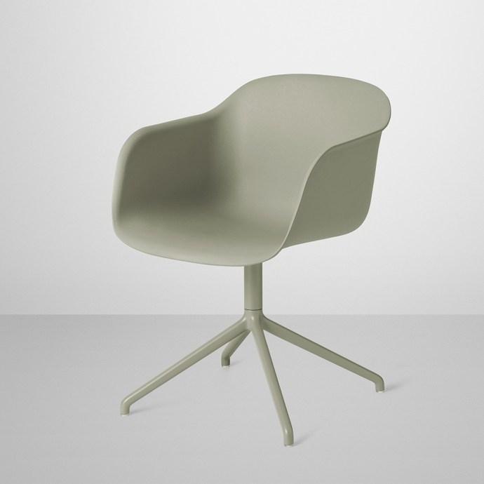 Fiber Chair Swivel Base fra Muuto -