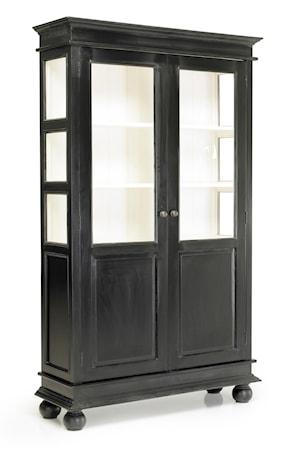 Double cabinet vitrineskap fra Nordal
