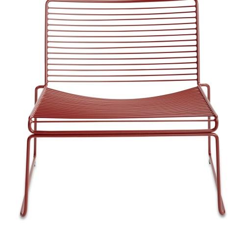 Hee Lounge Stol Rust - Hay