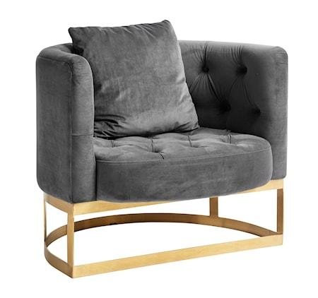 Lounge lenestol - Grå fra Nordal