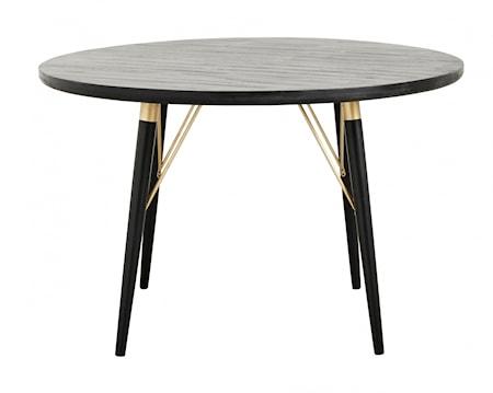 Spisebord Oval Svart Tre fra Nordal