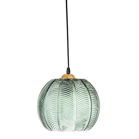 Taklampe Grønt glass Ø22xH20cm fra Bloomingville