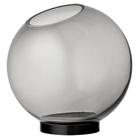 Vase Globe Black/Black L - AYTM