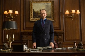Ralph Fiennes in Metro-Goldwyn-Mayer Pictures/Columbia Pictures/EON Productions' action adventure SPECTRE.