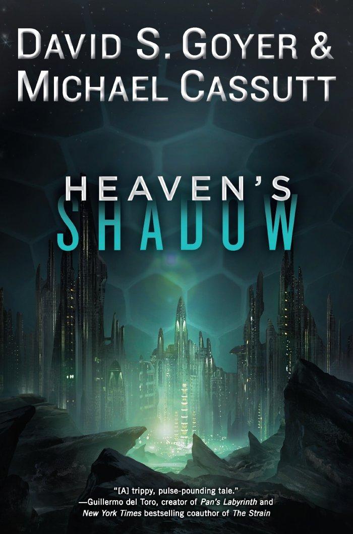 """Capa americana do livro """"Sombra do Paraíso (Heaven's Shadow)"""""""