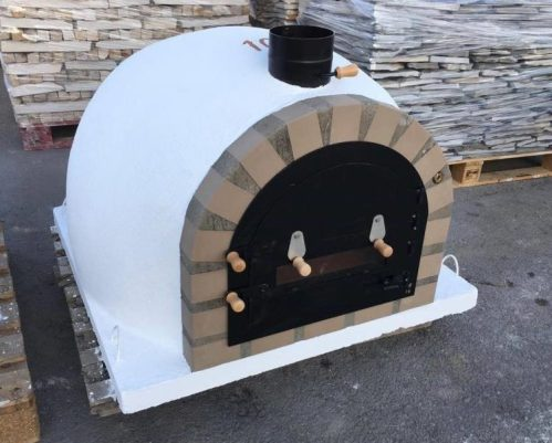 Traditional  oven – White Model Budget II