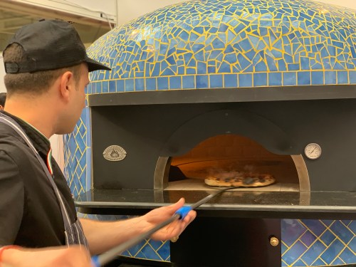 DEFRA APPROVED SAETTA 120 COMMERCIAL PIZZA OVEN, MOSAIC, DUAL FUEL, ROTARY FLOOR, ARTISAN ESPOSITO FORNI