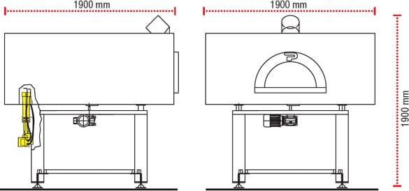 Pavesi Pizza Ovens