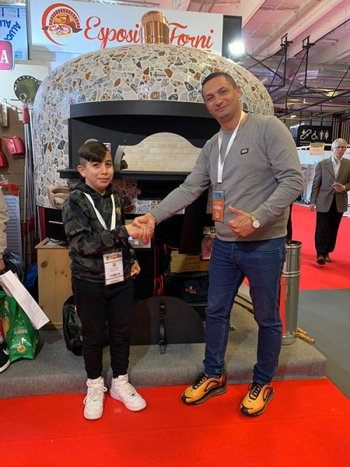 Parizza 2019 - reference show for Italian restaurants in Paris.