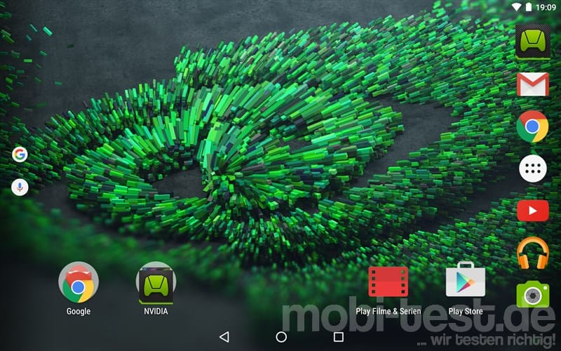 Nvidia Shield Tablet K1 Screenshot