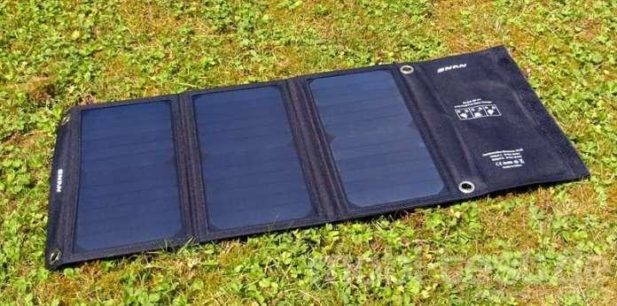 SNAN 21W Solar Ladegerät (3)