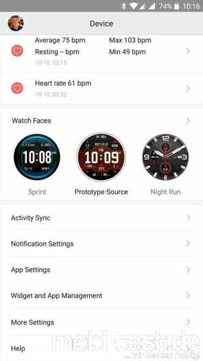 Xiaomi Amazfit Pace Screenshot (33)