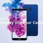 Huaweiが18:9ディスプレイとフロントリア4つのカメラ搭載した『 Nova2i 』を発表!