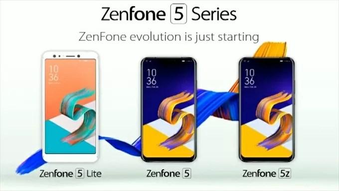 ZenFone5series2018