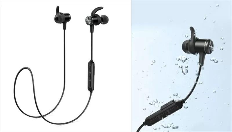 IPX7防水に対応したカナル型ワイヤレスイヤホン『 Anker Soundcore Spirit 』