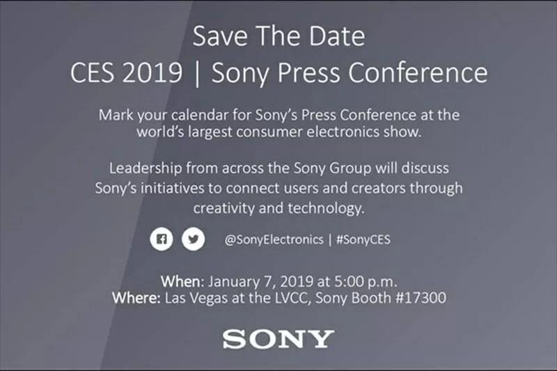 ソニーがCES2019で今年発表するスマホのラインナップを告知?