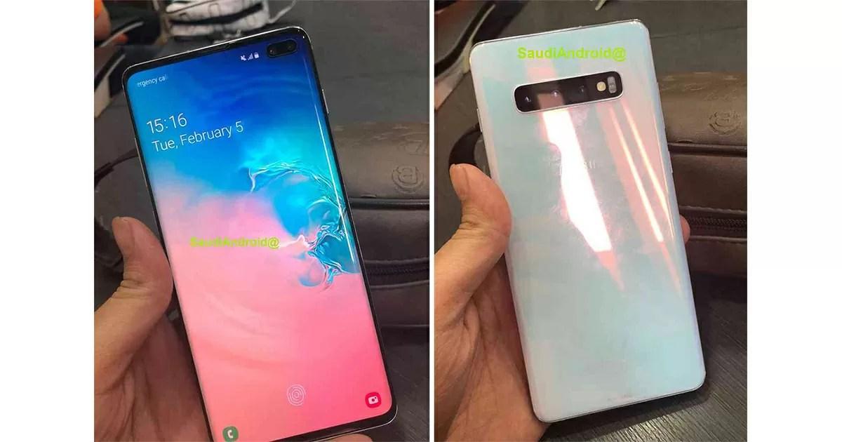 Galaxy S10 PlusとS10eにはディスプレイ指紋認証機能が搭載