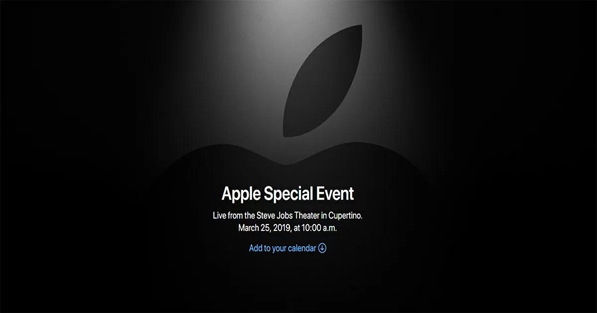 Appleの発表会
