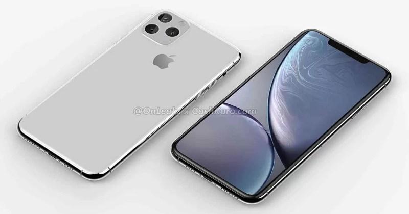 新型iPhone XI Max(仮)はトリプルカメラ搭載?