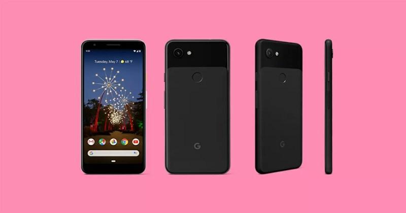 Google Pixel 3aのJust Black