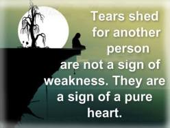Tears-Pure heart