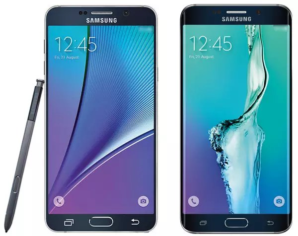 Samsung Galaxy Note 5 и Galaxy S6 Edge