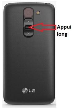 LG G2 mini bouton allumage