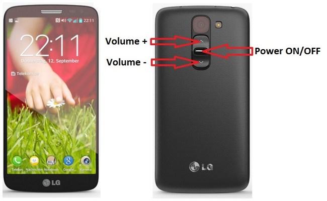 LG G2 mini bouton